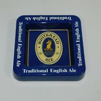 Whitbread Brewery Blue Melamine Traditional English Ale Advertising Ashtray