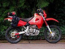 Honda XR650R 2000 2001 2002 Safari 25L Long Range Fuel Tank Petrol Gas Red