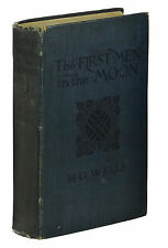 The First Men in the Moon ~ H. G. WELL ~ First British Edition 1st Printing 1901