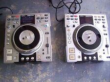 (2) Denon DN-S3500 Professional DJ Turntable CD / MP3 Player - READ DESCRIPTION
