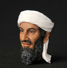"12"" Figure HEADPLay Model Toy 1/6 Osama bin Mohammed bin Awad bin Laden Man Head"