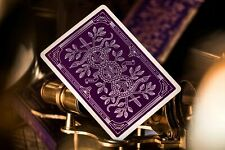 Purple Monarchs Playing Cards by Theory 11