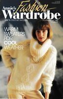 Annie's Fashion Wardrobe Knit & Crochet Magazine January/February 1988 No. 19