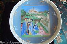 "D'Arceau Limoges collector plate ""April"" Nib and certs[am8]"