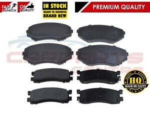 FOR MAZDA BONGO 1995 -2003 IMPORT 2.0 2.5D 2.5 TD V6 FRONT AND REAR PADS