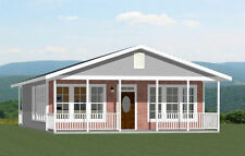 28x36 House -- 2 Bedroom 1 Bath -- 1,008 sq ft -- PDF Floor Plan -- Model 2