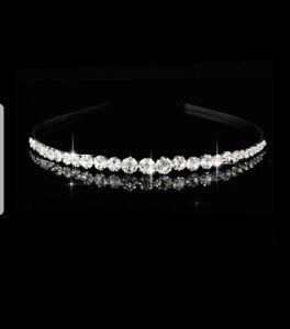 Wedding Headband Rhinestone Bridal Tiara Crystal Diamante Bridesmaid Party Prom