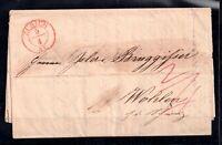 Switzerland Entire Letter Zurich to Wohlen WS12694