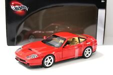 1:18 Hot Wheels Ferrari 550 Maranello red NEW bei PREMIUM-MODELCARS
