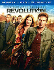 Revolution: The Complete First Season (Blu-ray/DVD, 2013, 9-Disc Set New