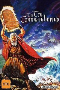 The Ten Commandments (DVD, 2007)