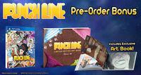 PUNCHLINE (PlayStation Vita, PSV) Brand New With Artbook
