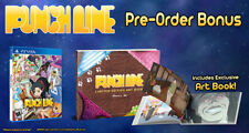 PUNCHLINE (PlayStation Vita, PSV) Brand New With Artbook