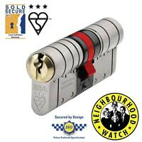 ERA Fortress TS007 3 Star Euro Cylinder - Anti-Snap Lock