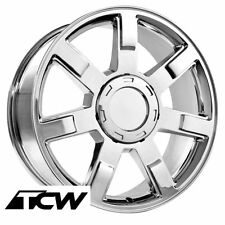 "(1) 22 inch 22x9"" Cadillac Escalade OE Replica 5309 Chrome Wheel Rim 6x139.7"