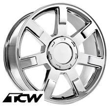 "(4) 22 inch 22x9"" Cadillac Escalade OE Replica 5309 Chrome Wheels Rims 6x139.7"