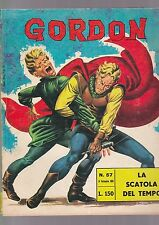 GORDON fratelli spada N.57 LA SCATOLA DEL TEMPO flash f.lli dan barry 1966