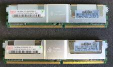 2 X 1 GB (2 GB) PC2-5300F-555-11 Hynix HYMP 512F72CP8D3-Y5 AC-C Memoria Ecc