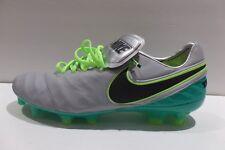 New! Nike Tiempo Legend VI FG US Sz 7 soccer cleats 819177-005 Wolf Grey $149