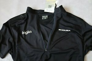 Mens Endura Cycling Hummvee Short Sleeve Jersey size XXL BNWT Black MTB Road