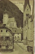 Austria Hallstatt - Churches pre WWI postcard to Waterloo IA USA