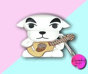 K K Slider AirPod Case Animal Crossing ACNH Gift New Horizons Cute