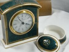"Wedgwood/Royal Doulton "" Biltmore "", Large Mantle Clock a Delight !!!."