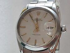 Vintage Rolex Date Precision Ref.6694  Bracelet Steel White 1970