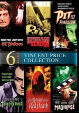 Vincent Price: 6 Horror Movie Collection Madhouse + More! Box / DVD Set NEW!