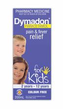 Dymadon Paracetamol For Kids 2-12 Years 200ml