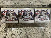Lot Of 3 Topps MLB Chrome Updates Holiday Baseball Trading Card Mega Box!!