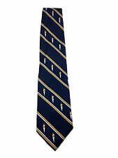 New Freedom Torch Flame Logo University NeckTie Suit Silk College School Fun Tie