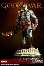 NEW Sideshow Collectibles God of War Kratos Polystone Statue Regular Version