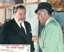 The Trygon Factor Original  Lobby Card Stewart Granger James Robertson Justice