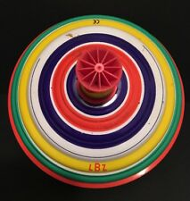 Vintage LBZ Tin Litho Spinning Toy Germany D-8502 Spinning