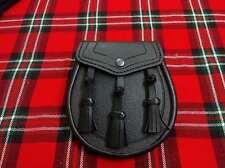 da uomo borsa scozzese in pelo pelle abito semi Celtic DECORATO /