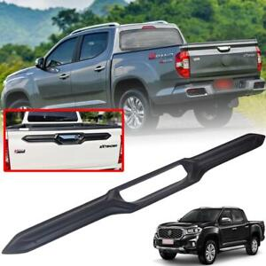 Rear Tailgate Handle Cover Matte Black For MG Extender Maxus T70 Pickup 2020+