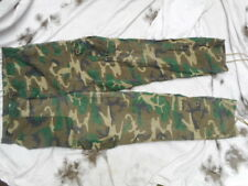 """US ARMY ERDL BROWN vietnam CAMO utility COMBAT TROUSERS wynn direct 38"""" LARGE"""