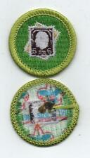 """Stamp Collecting Merit Badge, Type L, """"Since 1910"""" Back (2012-Current)"""