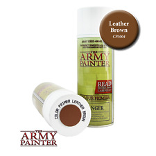 The Army Painter CP3004 Primer Leather Brown 400ml Fine Spray Can Courier Post