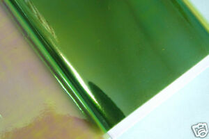 10x25cm ICE Film  Montage/ Dubbing - Chartreuse Fluo fly tying