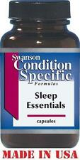 SLEEP ESSENTIALS - Melatonin GABA Valerian Passionflower Chamomile - 60 capsules