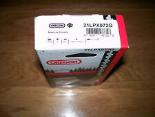 "1 21LPX072G Oregon 18"" Full chisel chainsaw chain .325 pitch .058 gauge 72 DL"
