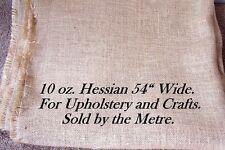 """1 Metro De 10 Oz de Hesse, 54 """"de ancho, Para Tapizar Y crafts.sold por metros."""