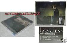 News Tomohisa Yamashita Loveless Taiwan CD +Portrait B.