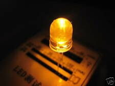 10mm 100pz LED ARANCIONE ORANGE ULTRALUMINOSI 10000mcd 2xA2C34