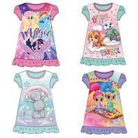 Oficial Niñas Suaves Disney Camisón Vestido Pijama - Tallas 2-8 Años