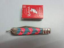 VINTAGE OKAPI GERMAN POCKET KNIFE Colorful handle Folding blade