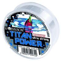 0,07 €//m monofilamento cuerda Bf 100m angel cuerda robinson Titan Power ultra strong