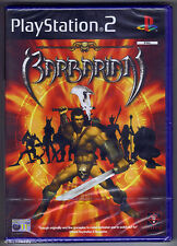 PS2 Barbarian (2003) UK Pal, Brand New & Sony Factory Sealed